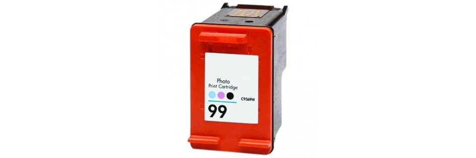 HP 99 Ink Cartridge - HP Remanufactured (Photo Color)