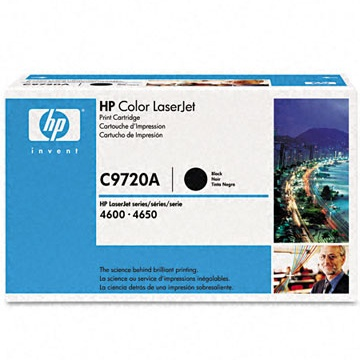 C9720A Toner Cartridge - HP Genuine OEM (Black)