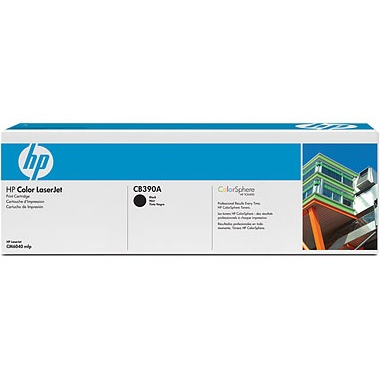 CB390A Toner Cartridge - HP Genuine OEM (Black)