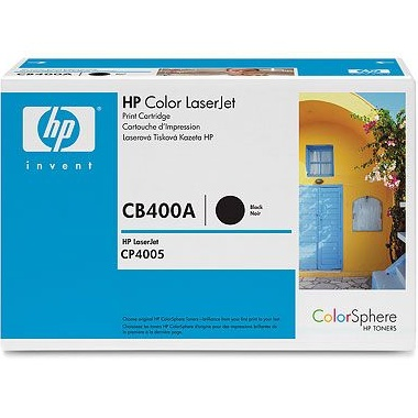 CB400A Toner Cartridge - HP Genuine OEM (Black)