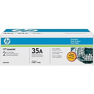 CB435D Toner Cartridge - HP Genuine OEM (Multipack)