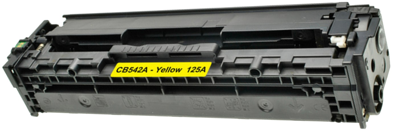 CB542A Toner Cartridge - HP Remanufactured (Yellow)
