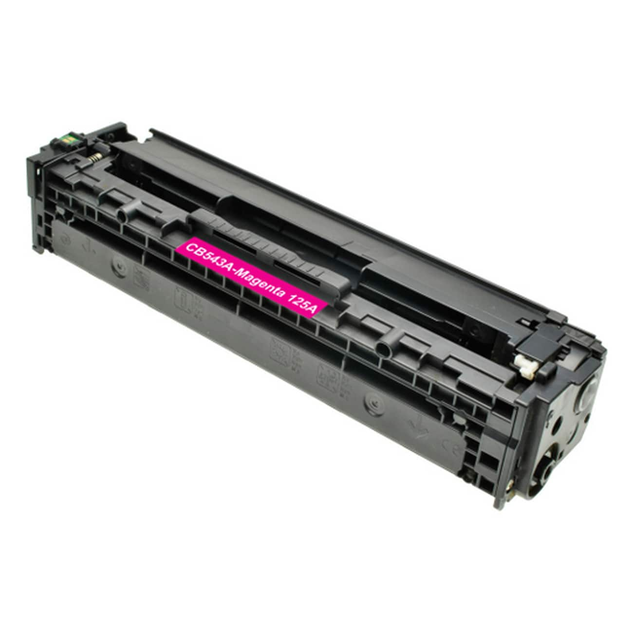 CB543A Toner Cartridge - HP Remanufactured (Magenta)