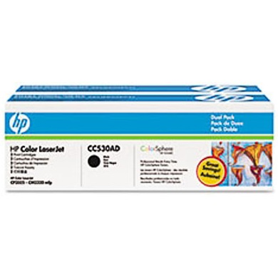CC530AD Toner Cartridge - HP Genuine OEM (Multipack)