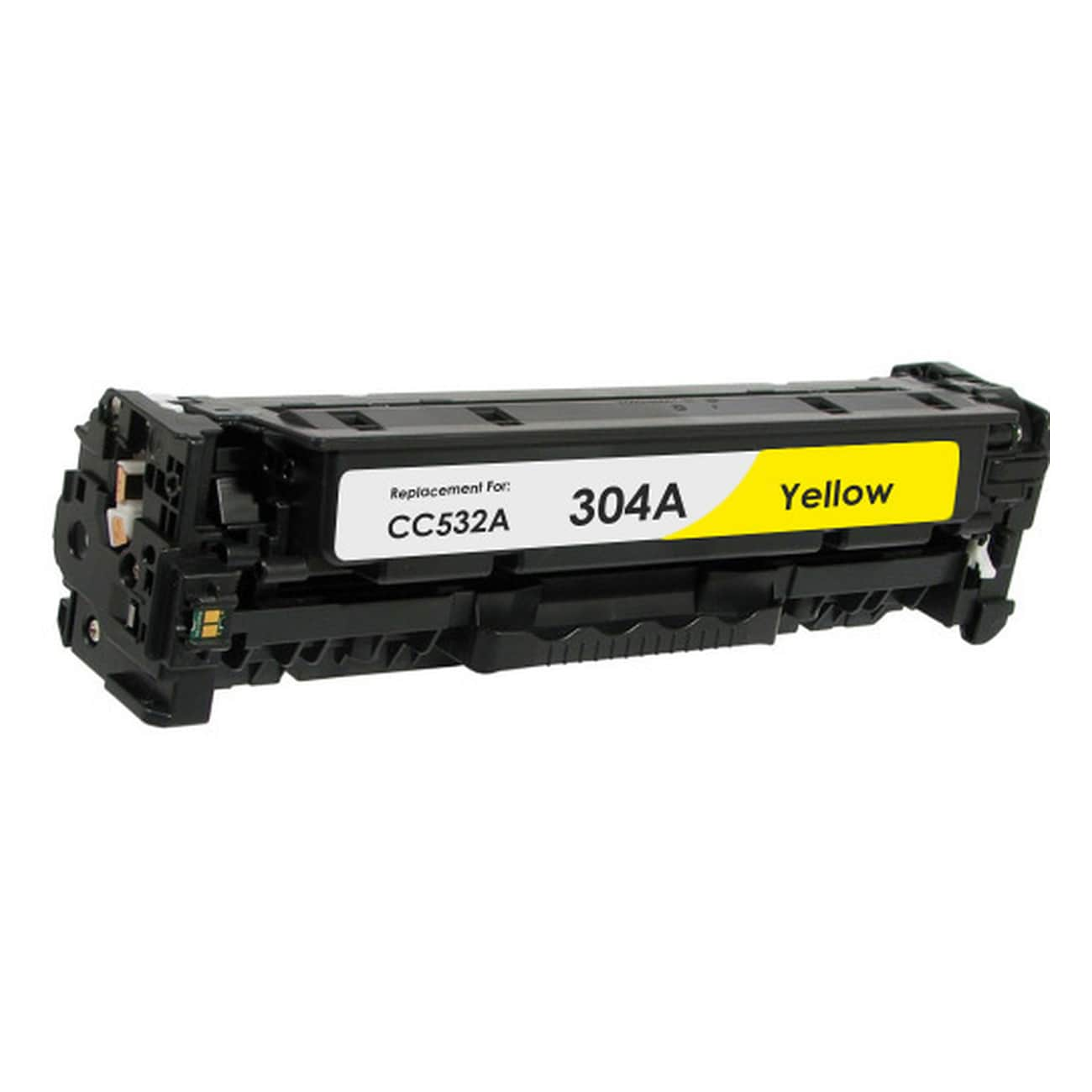 CC532A Toner Cartridge - HP Remanufactured (Yellow)