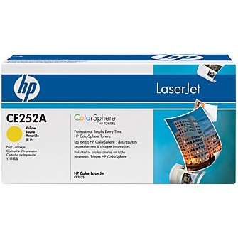 CE252A Toner Cartridge - HP Genuine OEM (Yellow)