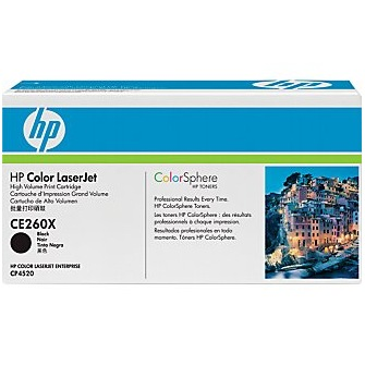 CE260X Toner Cartridge - HP Genuine OEM (Black)