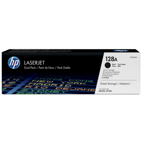 CE320AD Toner Cartridge - HP Genuine OEM (Multipack)