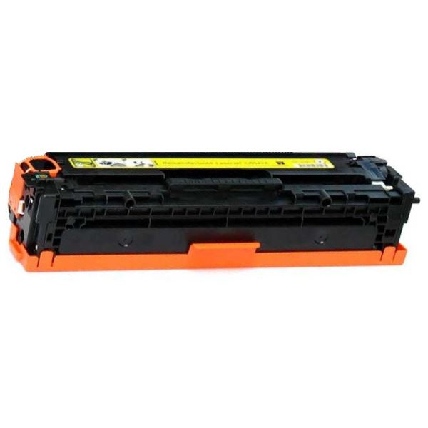 CE322A Toner Cartridge - HP Remanufactured (Yellow)