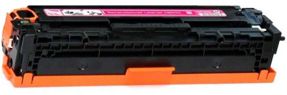 CE323A Toner Cartridge - HP Remanufactured (Magenta)