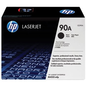 CE390A Toner Cartridge - HP Genuine OEM (Black)