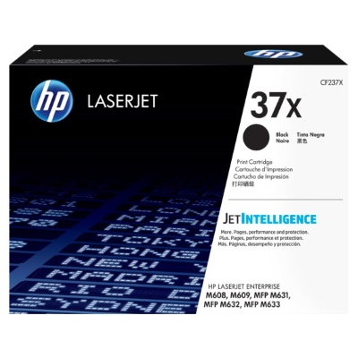 CF237X Toner Cartridge - HP Genuine OEM (Black)
