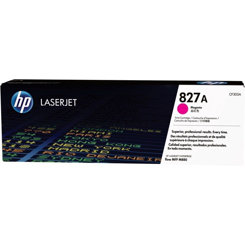 CF303A Toner Cartridge - HP Genuine OEM (Magenta)