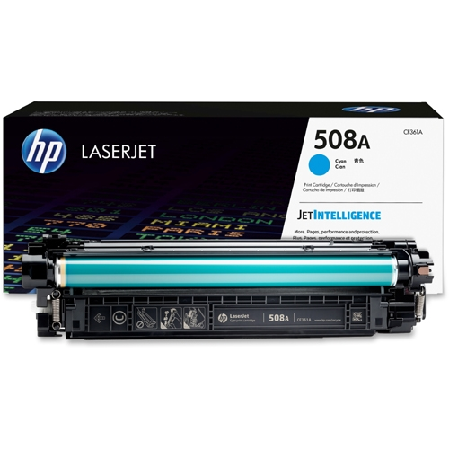 CF361A Toner Cartridge - HP Genuine OEM (Cyan)