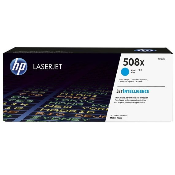 CF361X Toner Cartridge - HP Genuine OEM (Cyan)