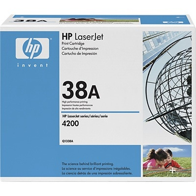Q1338A Toner Cartridge - HP Genuine OEM (Black)