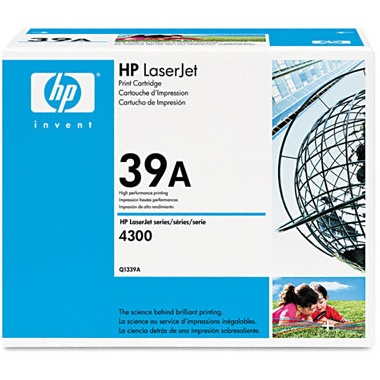 Q1339A Toner Cartridge - HP Genuine OEM (Black)