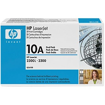 Q2610D Toner Cartridge - HP Genuine OEM (Multipack)