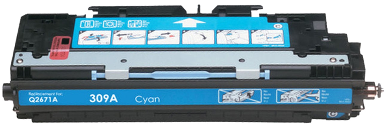 Q2671A Toner Cartridge - HP Remanufactured (Cyan)