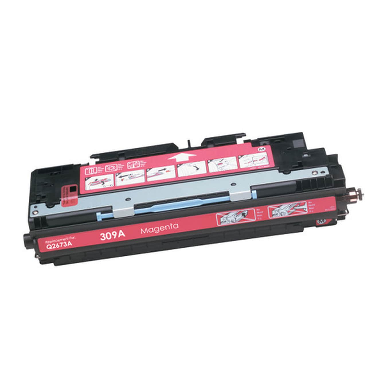 Q2673A Toner Cartridge - HP Remanufactured (Magenta)