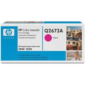 Q2673A Toner Cartridge - HP Genuine OEM (Magenta)