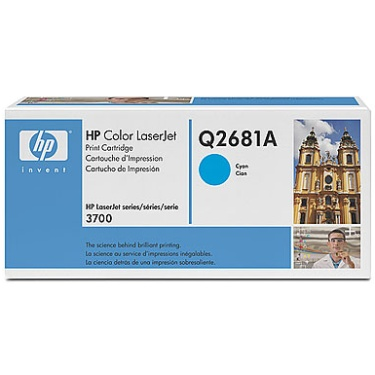 Q2681A Toner Cartridge - HP Genuine OEM (Cyan)