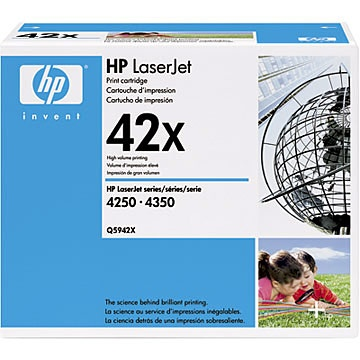 Q5942X Toner Cartridge - HP Genuine OEM (Black)