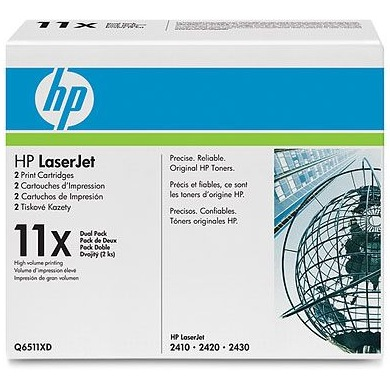 Q6511XD Toner Cartridge - HP Genuine OEM (Multipack)