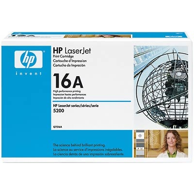 Q7516A Toner Cartridge - HP Genuine OEM (Black)