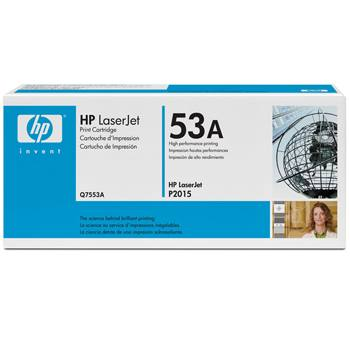 Q7553A Toner Cartridge - HP Genuine OEM (Black)