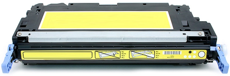Q7582A Toner Cartridge - HP Remanufactured (Yellow)