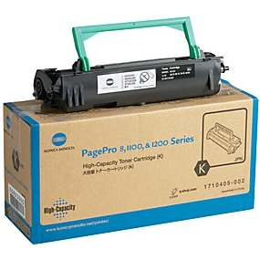1710405-002 Toner Cartridge - Konica-Minolta Genuine OEM (Black)