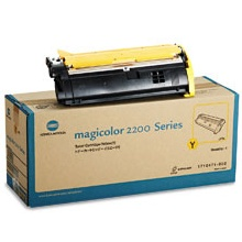 1710471-002 Toner Cartridge - Konica-Minolta Genuine OEM (Yellow)