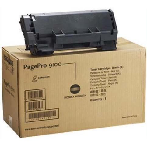 1710497-001 Toner Cartridge - Konica-Minolta Genuine OEM (Black)