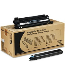 1710532-001 Print Cartridge Kit - Konica-Minolta Genuine OEM (Black)