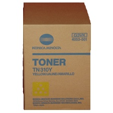 TN310Y Toner Cartridge - Konica-Minolta Genuine OEM (Yellow)