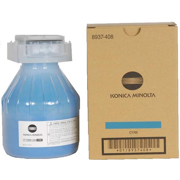 8937-408 Toner Cartridge - Konica-Minolta Genuine OEM (Cyan)