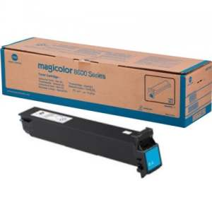 A0D7433 Toner Cartridge - Konica-Minolta Genuine OEM (Cyan)