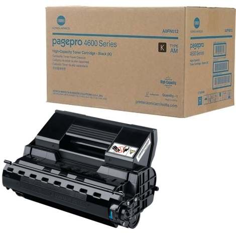 A0FN012 Toner Cartridge - Konica-Minolta Genuine OEM (Black)