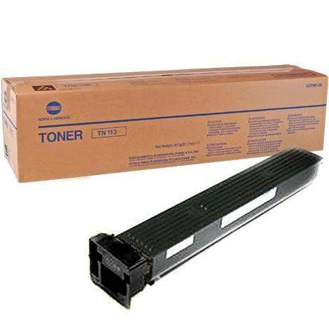 A0TM131 Toner Cartridge - Konica-Minolta Genuine OEM (Black)