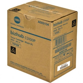 A0X5134 Toner Cartridge - Konica-Minolta Genuine OEM (Black)