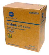 A0X5232 Toner Cartridge - Konica-Minolta Genuine OEM (Yellow)