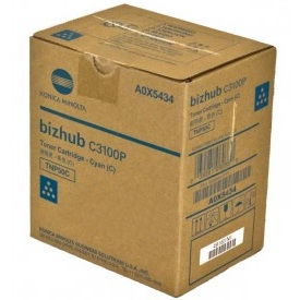 A0X5434 Toner Cartridge - Konica-Minolta Genuine OEM (Cyan)