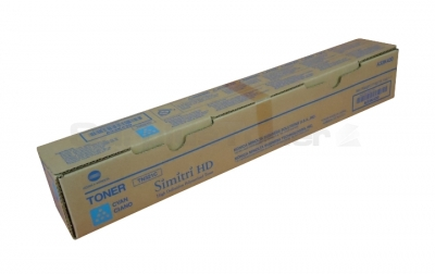A33K430 Toner Cartridge - Konica-Minolta Genuine OEM (Cyan)