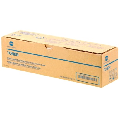 A6WN01F Toner Cartridge - Konica-Minolta Genuine OEM (Black)