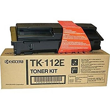 TK-112E Toner Cartridge - Kyocera Mita Genuine OEM (Black)