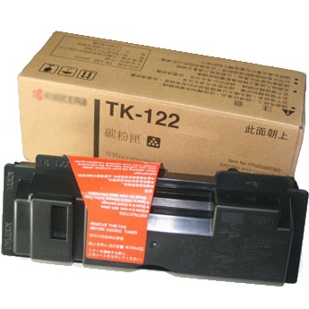 TK-122 Toner Cartridge - Kyocera Mita Genuine OEM (Black)