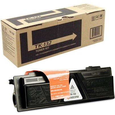 TK-132 Toner Cartridge - Kyocera Mita Genuine OEM (Black)