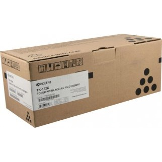 TK-152K Toner Cartridge - Kyocera Mita Genuine OEM (Black)