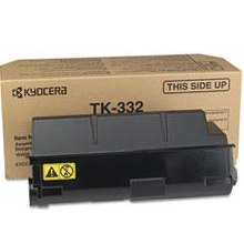 TK-322 Toner Cartridge - Kyocera Mita Genuine OEM (Black)